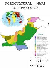 AGRICULTURAL  MAPS OF PAKISTAN
