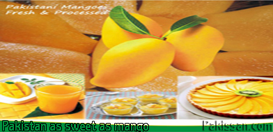 Pakistan as sweet as mango